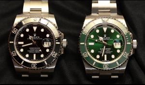 Replica rolex submariner 116610ln And 116610lv watches