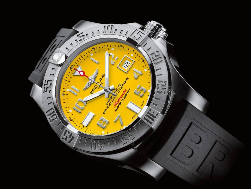 Breitling replica Avenger II Seawolf A1733110 watch