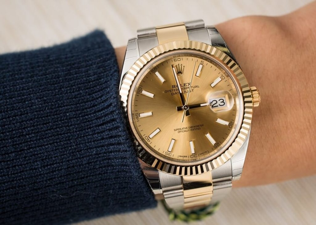 Replica Rolex Datejust 126333 Fluted bezel and Oyster bracelet