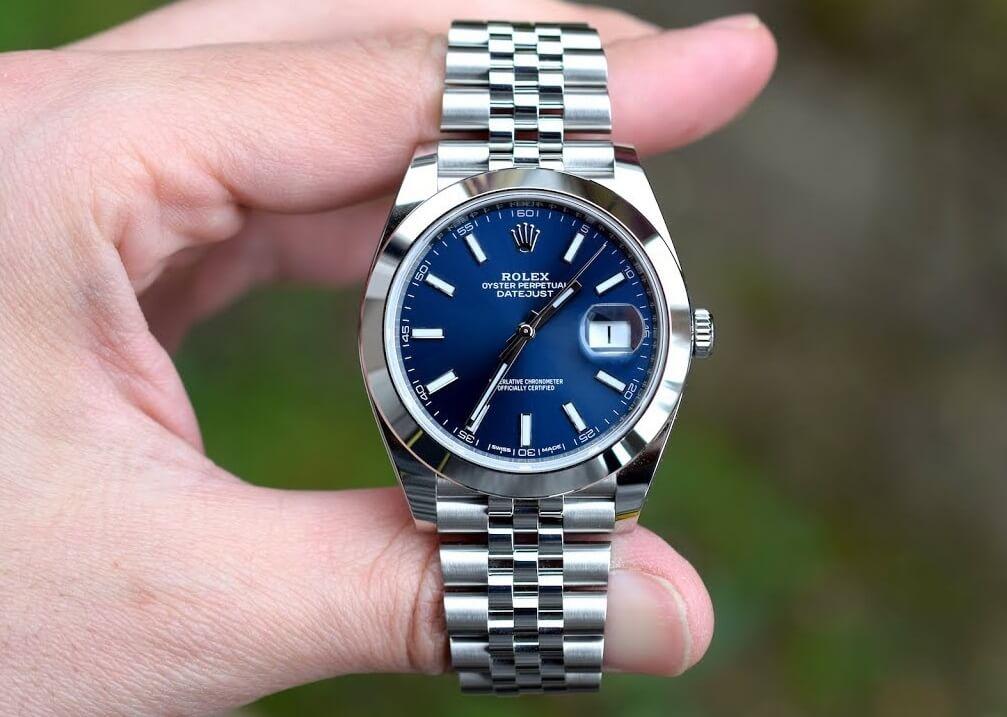 replica Rolex Datejust 126300 Oystersteel