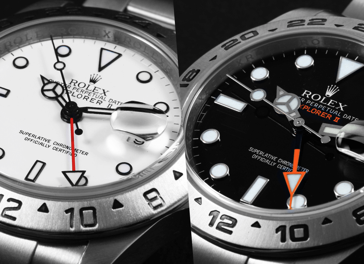 Imitation Rolex Explorer II 216570 In Steel