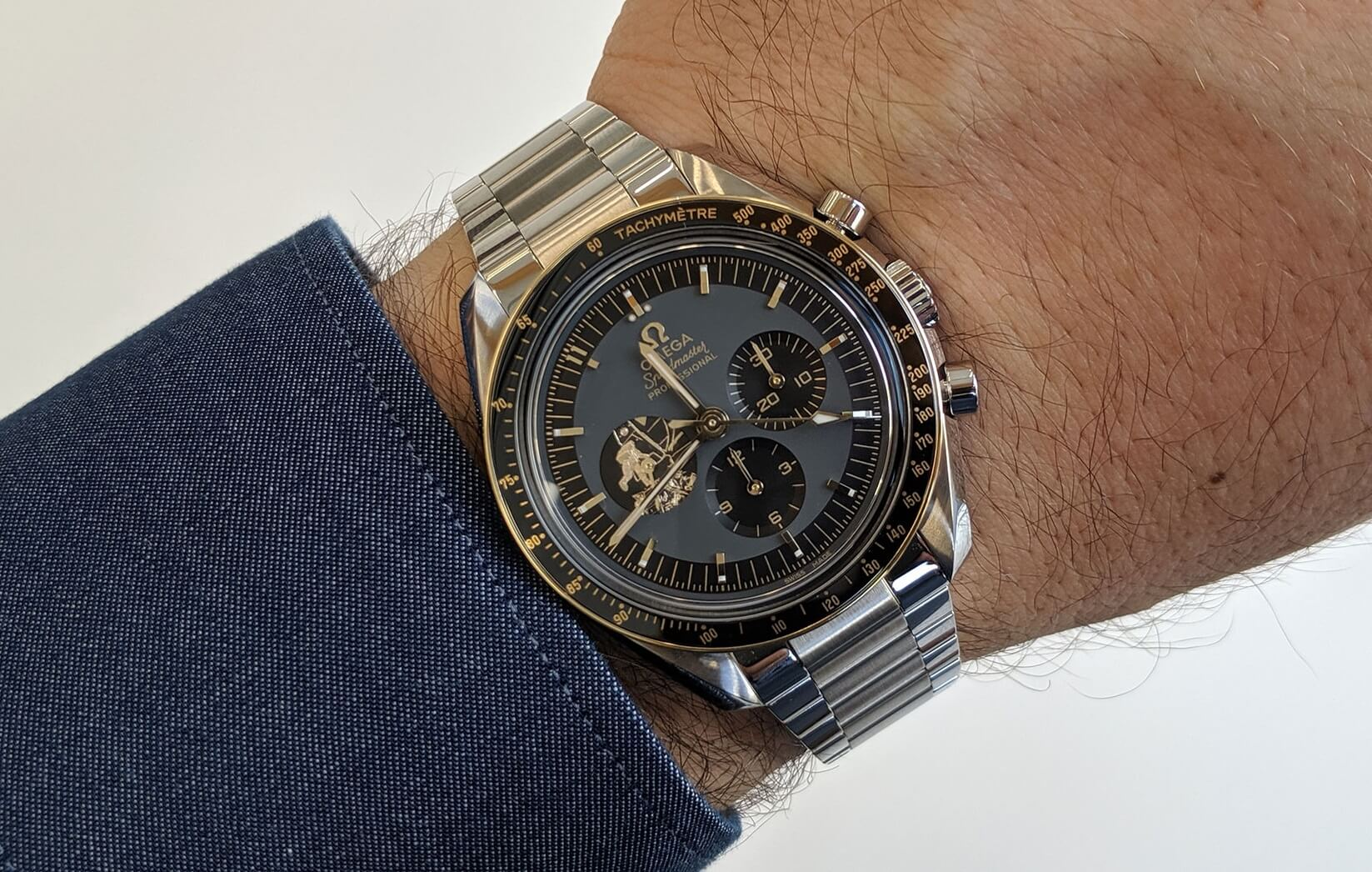 Replica Omega Speedmaster Moonwatch Apollo 11 50th Anniversary Watch